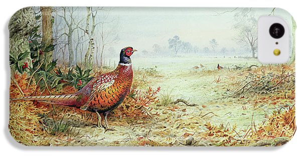Cock Pheasant  IPhone 5c Case by Carl Donner