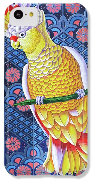 Cockatoo IPhone 5c Case by Jane Tattersfield
