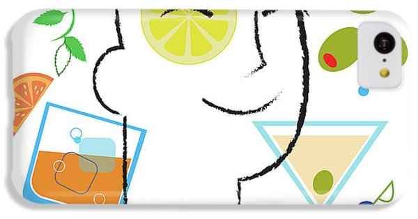 Cocktail Time IPhone 5c Case by Lisa Henderling