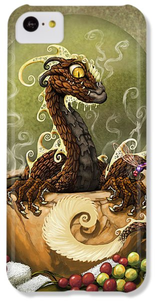 Coffee Dragon IPhone 5c Case