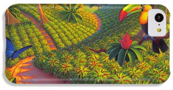 Coffee Plantation IPhone 5c Case by Robin Moline
