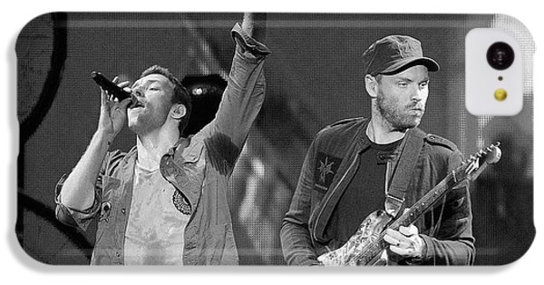 Coldplay iPhone 5c Case - Coldplay 14 by Rafa Rivas