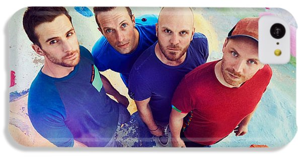 Coldplay iPhone 5c Case - Coldplay by Dee Art