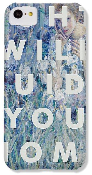 Coldplay Lyrics Print IPhone 5c Case