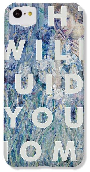 Coldplay iPhone 5c Case - Coldplay Lyrics Print by Georgia Fowler