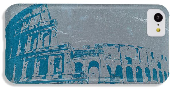 Coliseum IPhone 5c Case by Naxart Studio