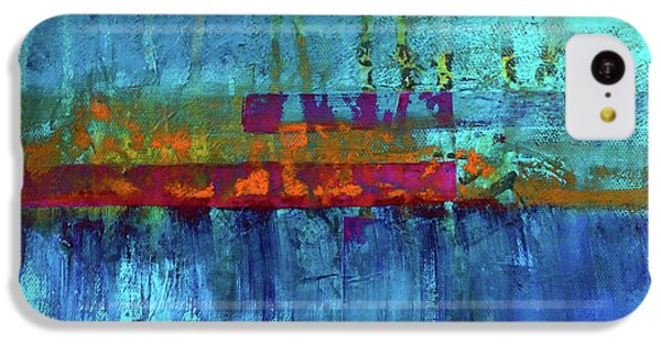 Color Pond IPhone 5c Case by Nancy Merkle