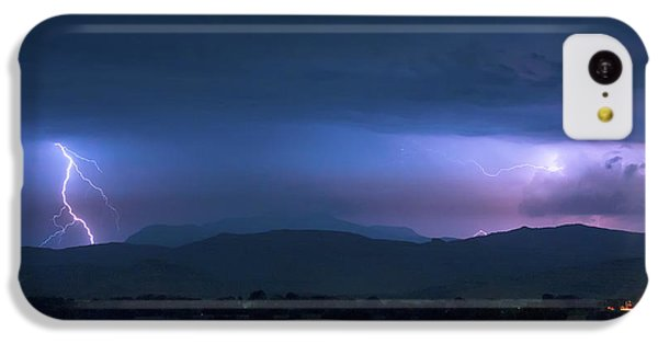 IPhone 5c Case featuring the photograph Colorado Rocky Mountain Foothills Storm by James BO Insogna