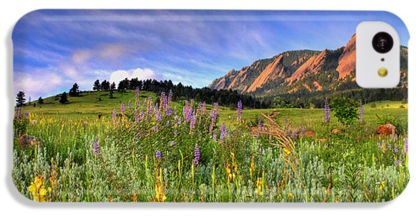 Landscapes iPhone 5c Case - Colorado Wildflowers by Scott Mahon