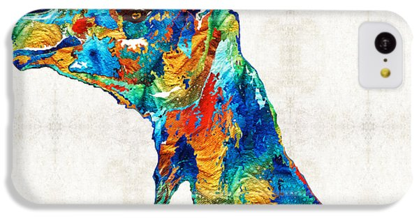 Colorful Camel Art By Sharon Cummings IPhone 5c Case