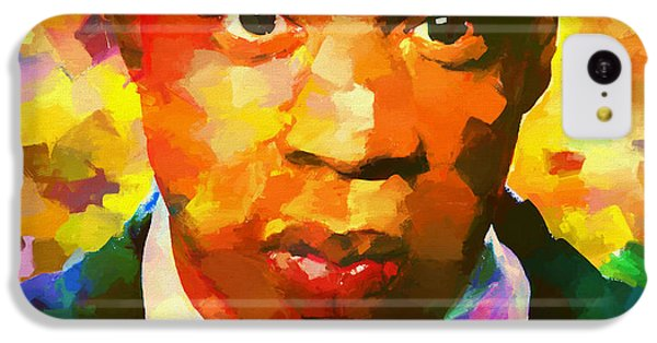 Colorful Jay Z Palette Knife IPhone 5c Case by Dan Sproul