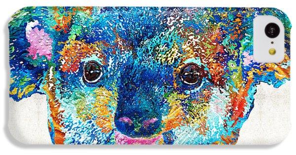 Colorful Koala Bear Art By Sharon Cummings IPhone 5c Case