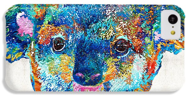 Colorful Koala Bear Art By Sharon Cummings IPhone 5c Case by Sharon Cummings