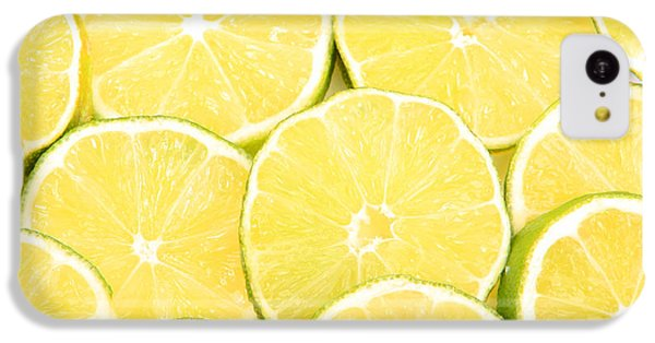 Colorful Limes IPhone 5c Case by James BO  Insogna