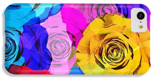 Colorful Roses Design IPhone 5c Case