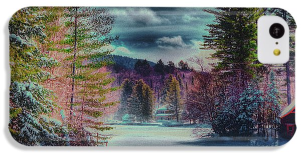 IPhone 5c Case featuring the photograph Colorful Winter Wonderland by David Patterson