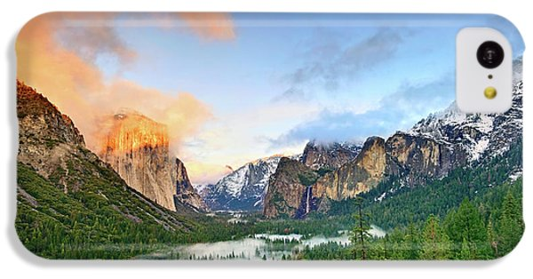 Mountain iPhone 5c Case - Colors Of Yosemite by Jamie Pham