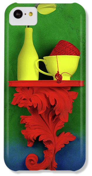 Tulip iPhone 5c Case - Colors by Tom Mc Nemar