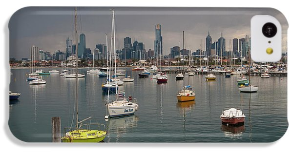 Colour Of Melbourne 2 IPhone 5c Case by Werner Padarin