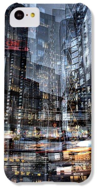 Columbus Circle Collage 1 IPhone 5c Case
