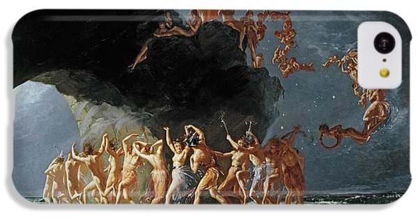 Come Unto These Yellow Sands IPhone 5c Case by Richard Dadd