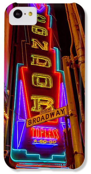 Condor Neon On Broadway IPhone 5c Case by Garry Gay