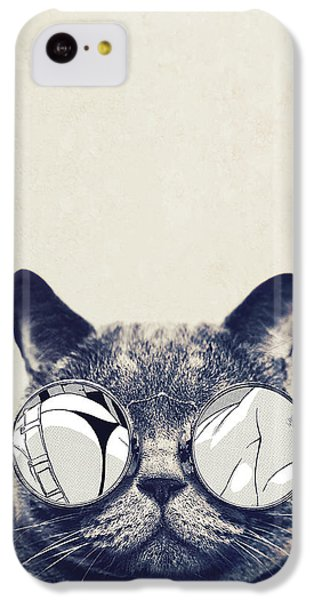 Cool Cat IPhone 5c Case by Vitor Costa
