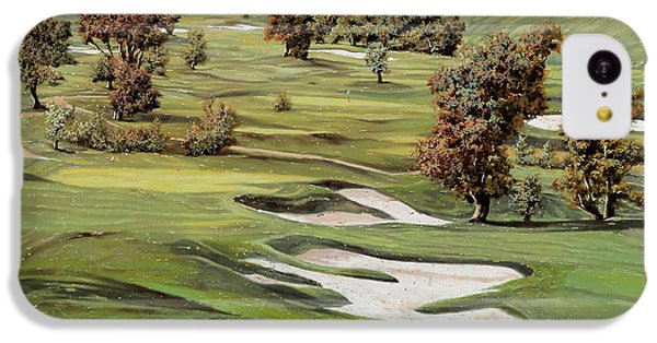 Cordevalle Golf Course IPhone 5c Case by Guido Borelli
