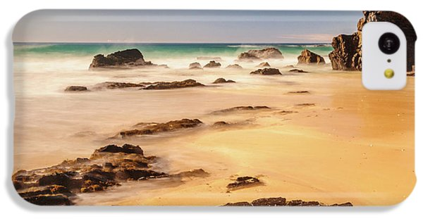 Corunna Point Beach IPhone 5c Case by Werner Padarin