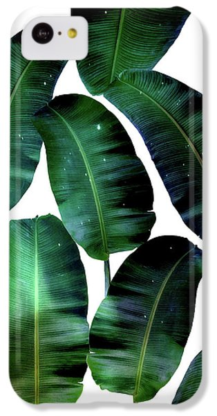 Cosmic Banana Leaves IPhone 5c Case by Uma Gokhale