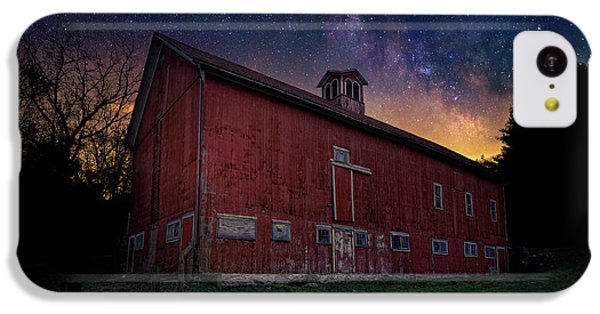 IPhone 5c Case featuring the photograph Cosmic Barn by Bill Wakeley