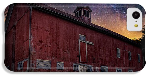 IPhone 5c Case featuring the photograph Cosmic Barn Square by Bill Wakeley