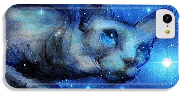 Cosmic Sphynx Painting By Svetlana IPhone 5c Case