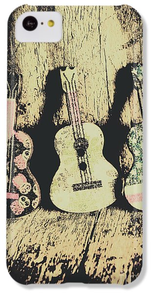 Musical iPhone 5c Case - Country And Western Saloon Songs by Jorgo Photography - Wall Art Gallery