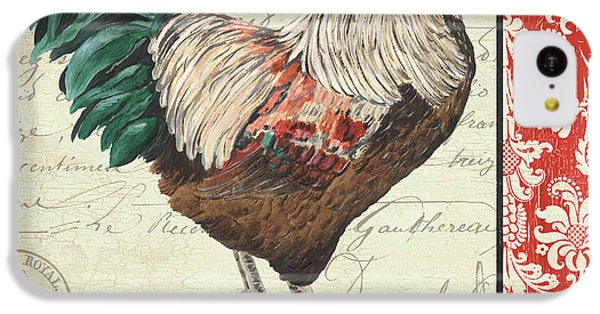 Rooster iPhone 5c Case - Country Rooster 1 by Debbie DeWitt