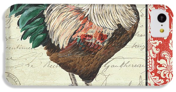 Country Rooster 1 IPhone 5c Case by Debbie DeWitt
