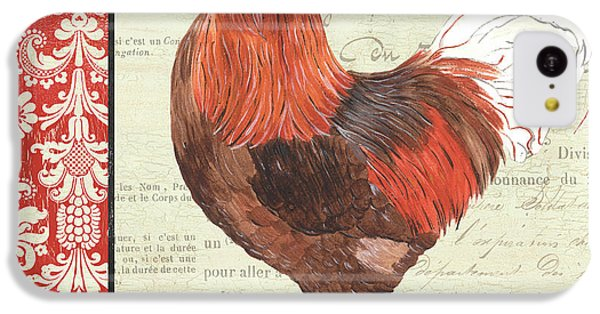 Rooster iPhone 5c Case - Country Rooster 2 by Debbie DeWitt