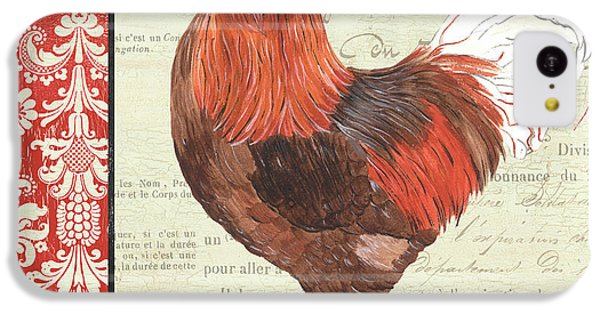 Country Rooster 2 IPhone 5c Case by Debbie DeWitt