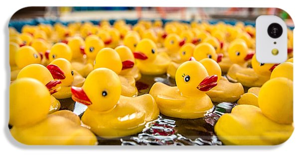 County Fair Rubber Duckies IPhone 5c Case by Todd Klassy