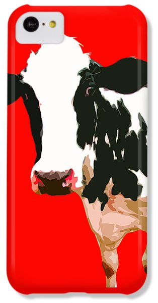 Cow In Red World IPhone 5c Case
