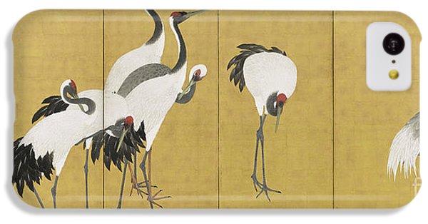 Cranes IPhone 5c Case by Maruyama Okyo