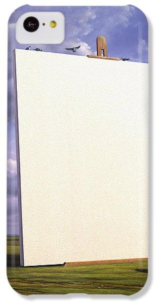 Pigeon iPhone 5c Case - Creative Problems by Jerry LoFaro
