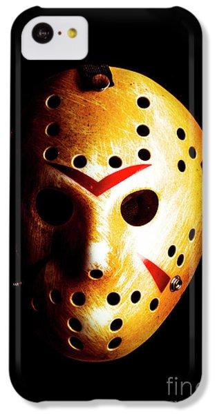 Hockey iPhone 5c Case - Creepy Keeper by Jorgo Photography - Wall Art Gallery