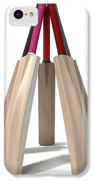 Cricket Bat Circle IPhone 5c Case