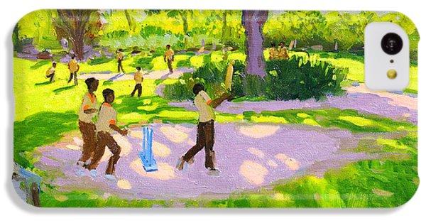 Cricket iPhone 5c Case - Cricket Practice by Andrew Macara