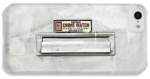 Crime Watch Mailslot IPhone 5c Case