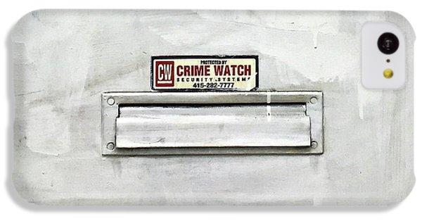Crime Watch Mailslot IPhone 5c Case