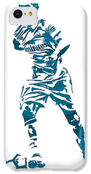 Cristiano Ronaldo Real Madrid Pixel Art 3 IPhone 5c Case