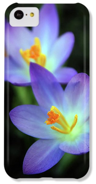 IPhone 5c Case featuring the photograph Crocus In Bloom by Jessica Jenney