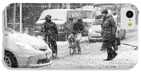 Crosswalk In Snow IPhone 5c Case